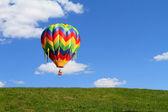 Hot air balloon — Stock Photo