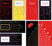 Love card — Cтоковый вектор