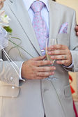 The groom — Foto Stock