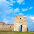 Spring ancient fortress ruins - Stock Photo