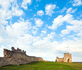 Spring ancient fortress ruins — Stock Photo