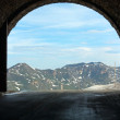 Alps summer view from Hochtor tunnel — Stock Photo