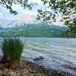 Alpine summer lake view — Stock Photo #6112054
