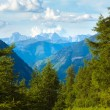 Alps summer view - Stockfoto
