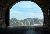 Alpi estate vista da hochtor tunnel — Foto Stock