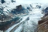 Alpine summer glacier view — Stock Photo