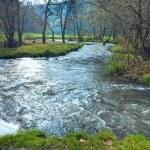 Waterfall on Autumn River — Stock Photo #6156492