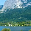 Stock Photo: Alpine summer lake view