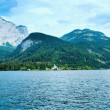 Alpine summer lake view — Stock Photo #6156590