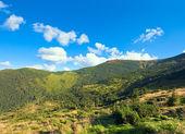 Letní mountain view — Stock fotografie