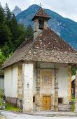 Dolomites mountain summer view — Stock Photo