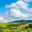 Stock Photo: Summer mountain view
