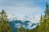 Dolomites mountain summer view — 图库照片