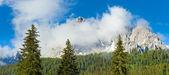 Dolomites dağ yaz görünümü — Stok fotoğraf
