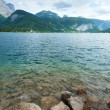 Alpine summer lake view — Stock Photo