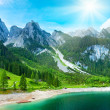 Alpine summer lake view — Stock Photo #6335610
