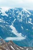Alpen zomer weergave — Stockfoto