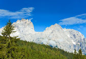 Dolomites mountain summer view — Stok fotoğraf