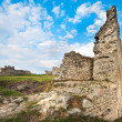Stock Photo: Spring ancient fortress ruins
