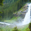 Alps waterfall summer view — Stock Photo #6466919