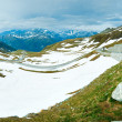 Alps summer panorama. — Stock Photo