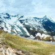 Alps summer panorama. - Stock Photo
