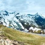 Alps summer panorama. — Stock Photo