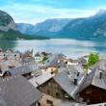 Hallstatt view (Austria) — Foto Stock