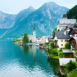Hallstatt view (Austria) — Stock Photo