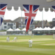 Stock Photo: Bunting and cricket