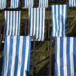 Deckchairs — Stock Photo