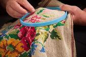 Needlework. — Stock Photo