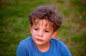 Photo of young boy . — Stock Photo