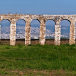 Roman Aqueduct in Akko . - Stock Photo