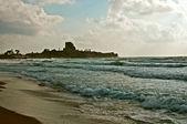 Crusader castle Atlit. — Stock Photo
