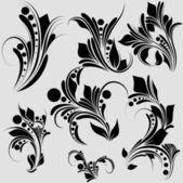 Creative Elementary Graphics — Stock Vector