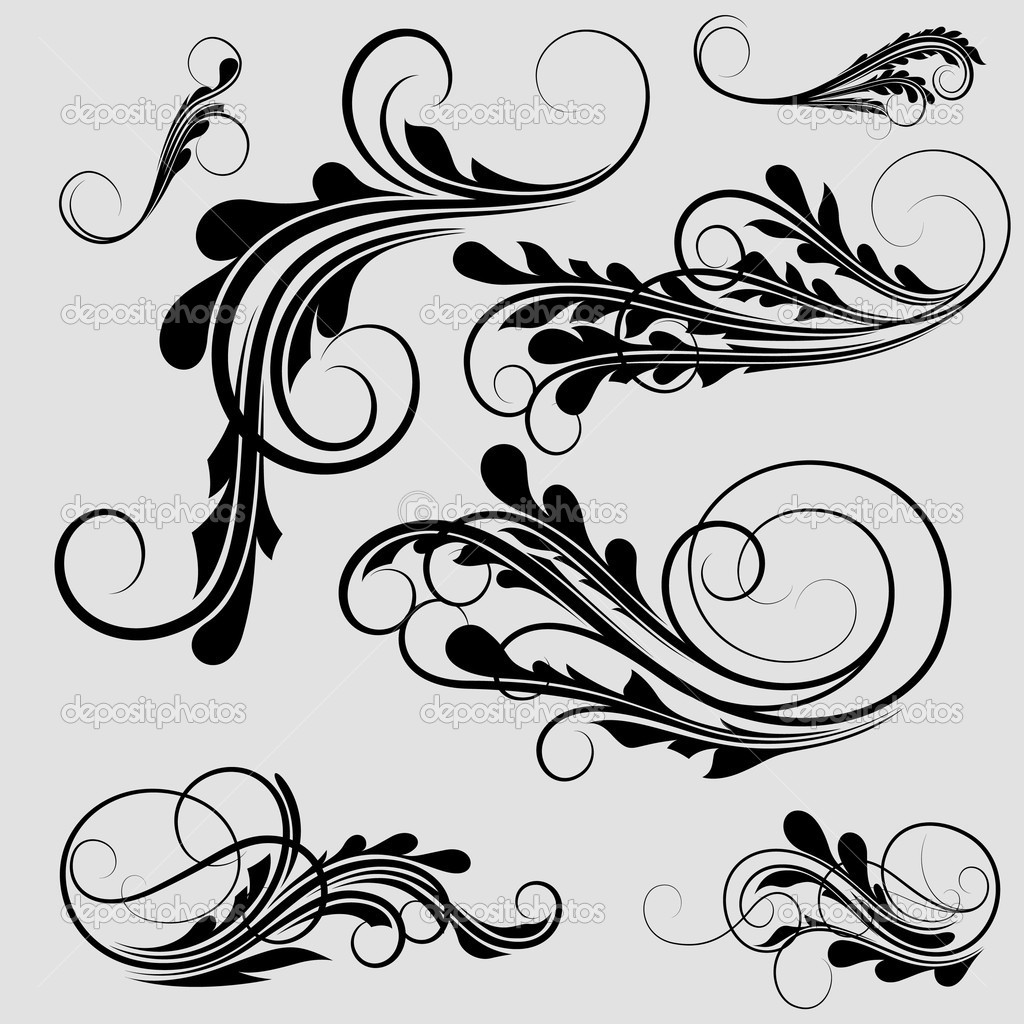 curly designs