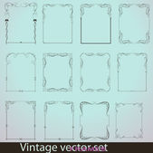 Isolated Modern Frame — Stock Vector