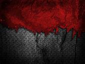 Grunge-mauer mit metallischen textur — Stockfoto