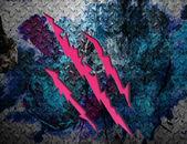 Textura metálica do grunge rip — Foto Stock