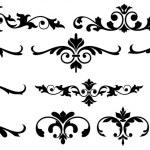 Conceptual Floral Set Elements — Stock Vector #6123529