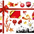 Royalty-Free Stock Vector Image: Christmas Decorative Elements Design