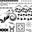 Stock Vector: VictoriFlourish Divider Collection