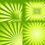 Ancient Design Retro Sunburst Collection — Stock Vector #6681382