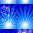 Royalty-Free Stock Vector Image: Stylish Decorative Sparkle Background Set