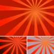 Unique Sunburst Background Design — Stock Vector