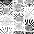 Black n White Stripped Background — Stock Vector