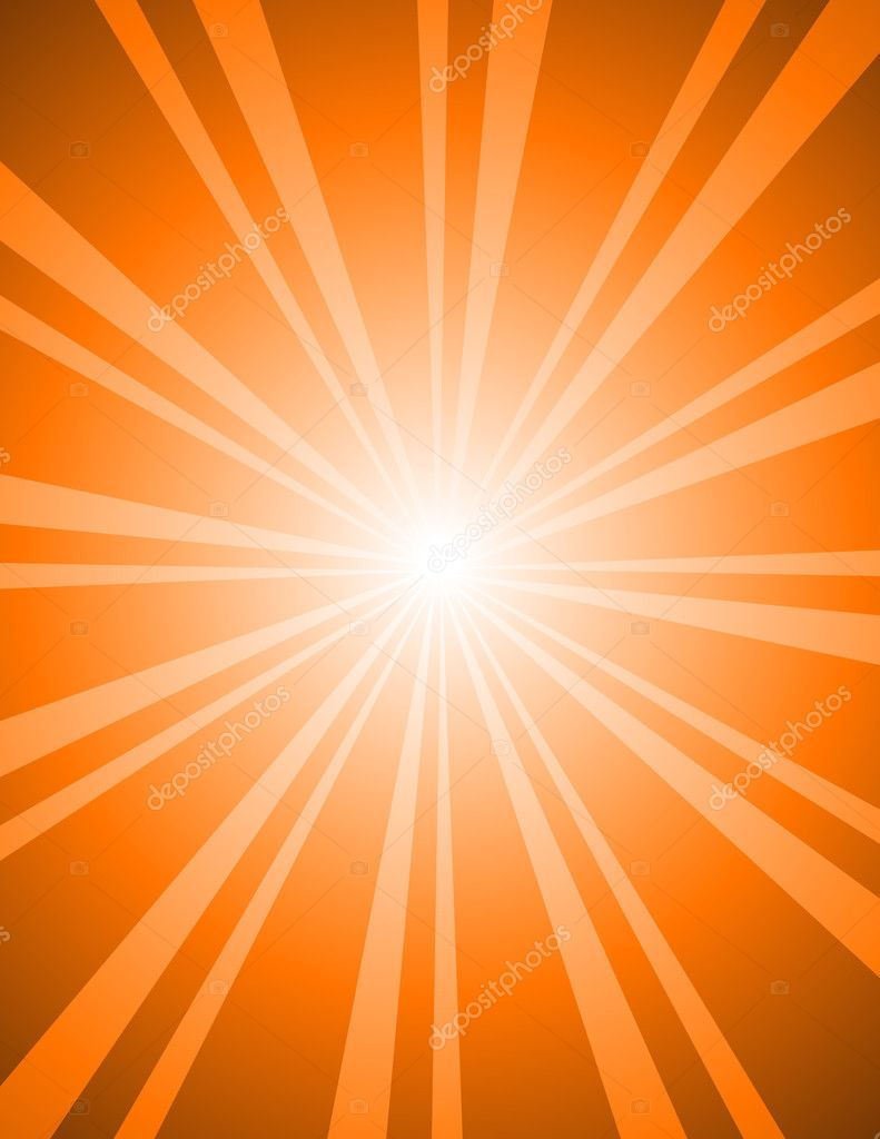 Creative Isolated Abstract Vintage Retro Sunburst Background — Stock Vector #6681463