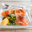 Smoked salmon — Stock Photo #5463887