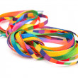 Rainbow shoelaces — Stock Photo #5528054